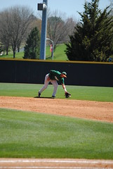 FIELDING AT SECOND (SneakinDeacon) Tags: acc baseball miami ncaa vt hurricanes blacksburg virginiatech hokies englishfield