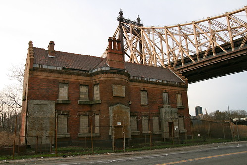 Abandoned Building Under Queensboro Bridge