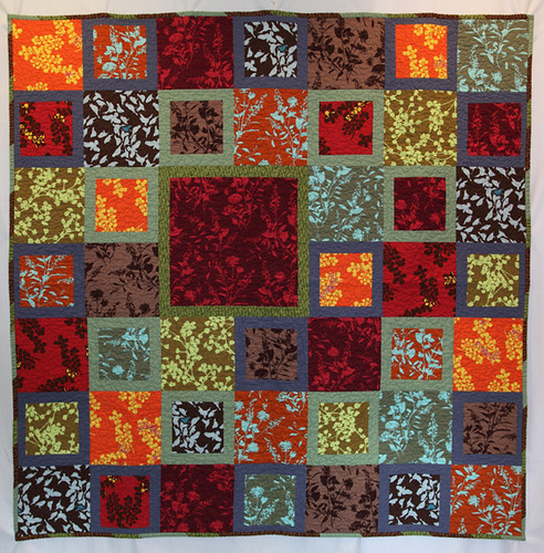 Jeff and Sunshine's wedding quilt