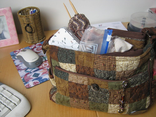 Handbag o' crafting!