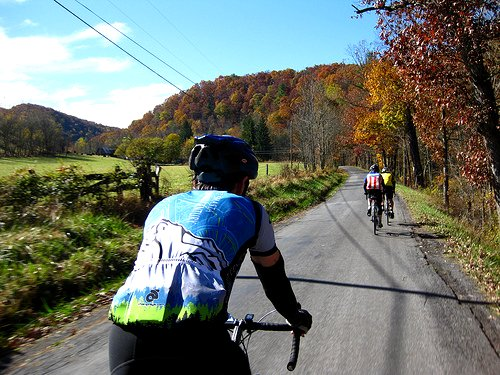 the bike club rides in West Virginia (by: Rudi Riet, creative commons license)
