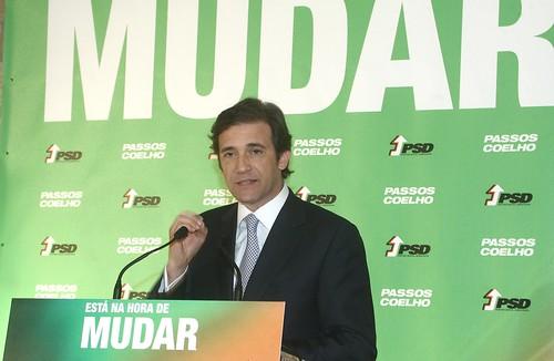 Pedro Passos Coelho no Jantar Comício em Torres Vedras