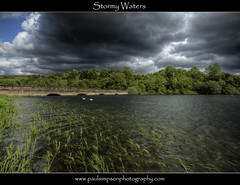 Stormy Waters (Paul Simpson Photography) Tags: lake storm water clouds weeds darkclouds southyorkshire waterripples ulleyreservoir paulsimpsonphotography photosofwater artistoftheyearlevel3 artistoftheyearlevel4