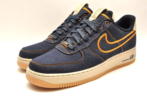 Quick Strike Nike Air Force 1 - Denim