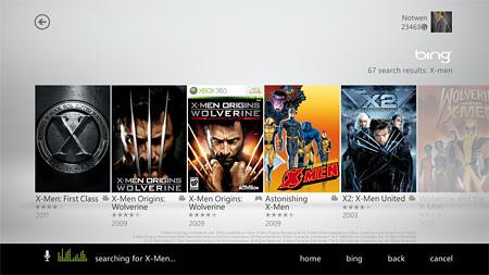 Xbox LIVE-Voice Search