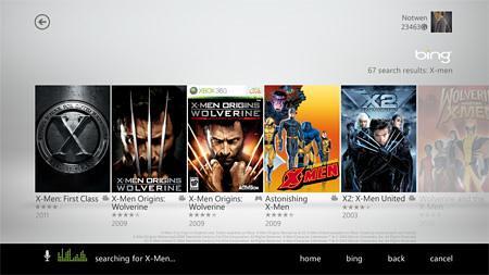 Xbox LIVE-Voice Search
