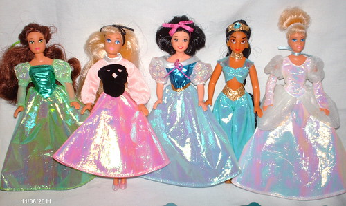Mini Disney Princess Dolls