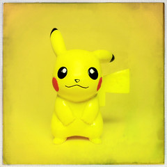 Pikachu (Evan MacPhail Photography) Tags: toy pikachu photgraphy hipstamatic