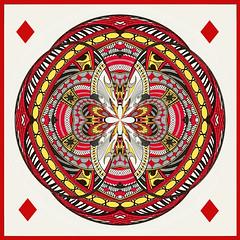 Orb-ing the King of Diamonds (lclower19) Tags: orb diamond king card playingcard square pse polarcoordinate 0852 522017 hss