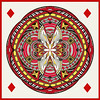 Orb-ing the King of Diamonds (lclower19) Tags: orb diamond king card playingcard square pse polarcoordinate 0852 522017 hss