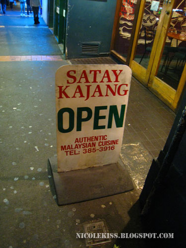 satay kajang in wellington