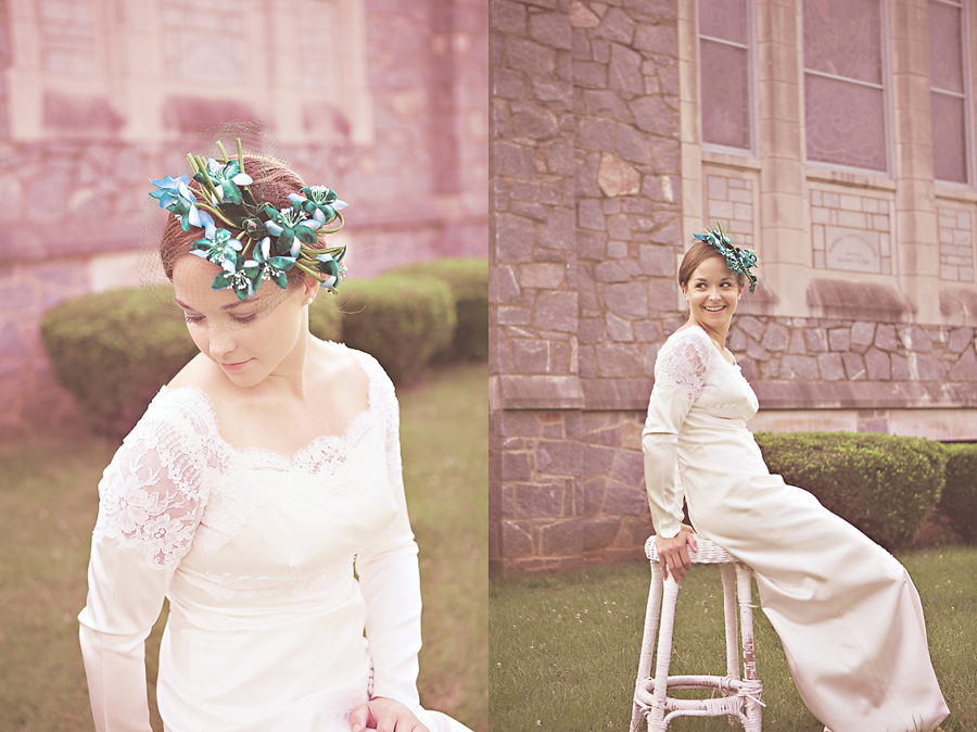 Ellen Vintage Bridal Session