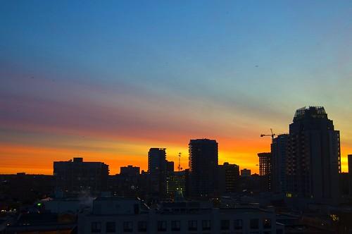 276:365 Urban sunrise