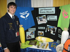 Clayton Carley and The Sweet Corn Shack, 2009 FFA Agri-Entrepreneur