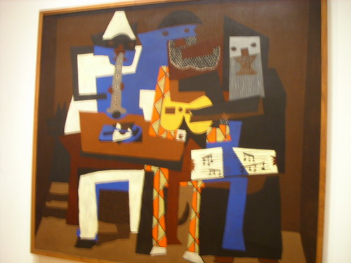 Picasso-Three Musicians