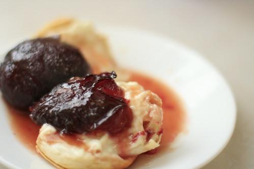 plum breakfast