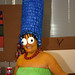 Marge Simpson! A GREAT Halloween Costume!
