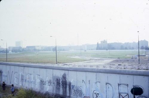 West Berlin 1980 - Berlin Wall #6