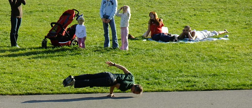 Hippy Hill on a sunny day. San Francisco's Indian Summer in Golden Gate Park 2009 7