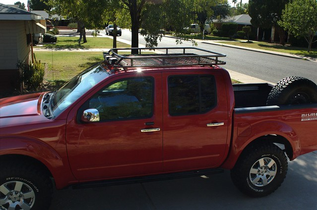 2nd Gen Frontier Crew Cab Full Roof Rack Replacement