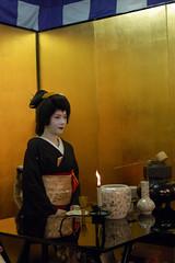 Geiko ( (Q)) Tags: japan kyoto maiko geiko geisha    kimono gion  gionodori misuzu    gionhigashi