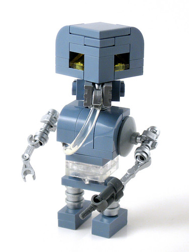 CubeDude 2-1B medical droid