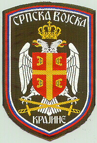 Sleeve patch of the Serbian Army of Kraina