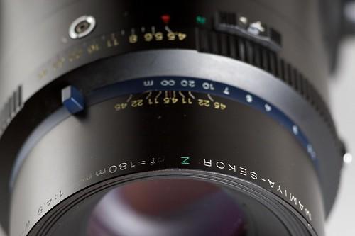 Mamiya-Sekor Z 180mm f/4.5 W-N (RZ67)