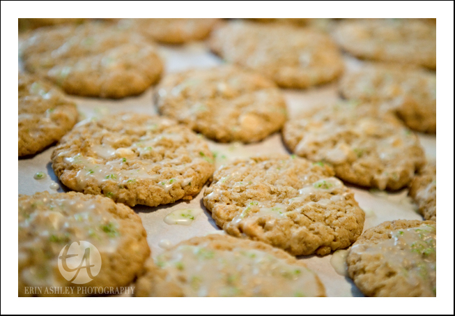 Erin Ashley Photography: White Chocolate Coconut Lime Cookies