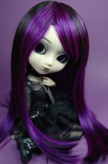 Purple & Black (-=april=-) Tags: black doll purple gothic violet groove cancan pullip 16 lightning chill coolcat dollie obitsu junplanning rewigged pullipchill sbhm