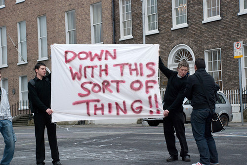 great protest signs by didbygraham, on Flickr