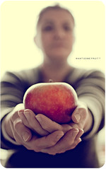 want some fruit? (marqos) Tags: light color apple model hands nikon natural mother