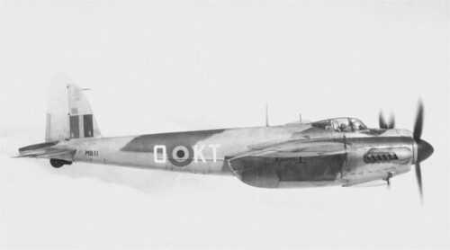 Warbird picture - Havilland DH.98 Mosquito NF.30 1