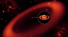 El mayor anillo de Saturno