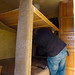 Removing the top bunk