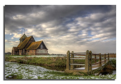 Fairfield Church, Romney Marsh. (pete stone) Tags: kent village hdr fairfield romneymarsh kentchurches