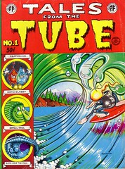 Tales from the Tube (micky the pixel) Tags: comics comic robertcrumb robertwilliams rickgriffin undergroundcomics printmint talesfromthetube cclaywilson