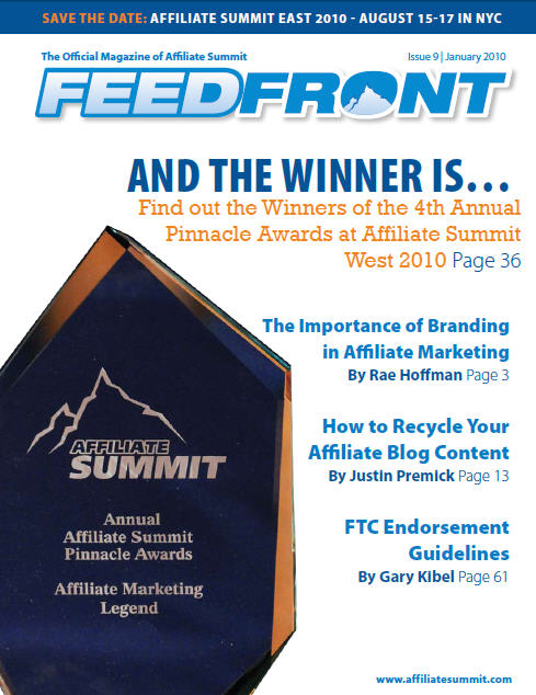 FeedFront Magazine, issue 9 cover