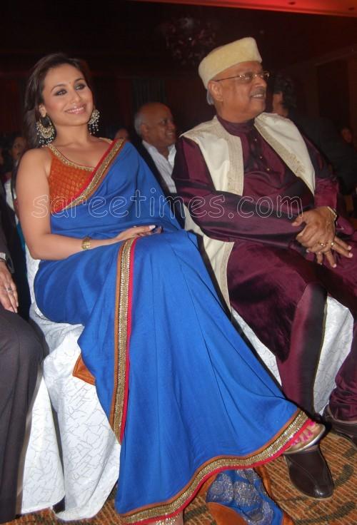 Rani-Mukherjee-Blue-Saree1