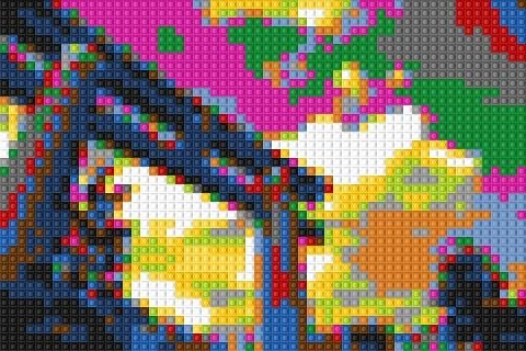 平安神宮大鳥居LEGOバージョン