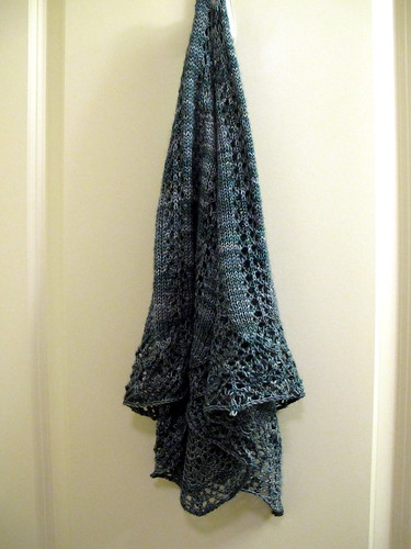 Finished Shawl 2010