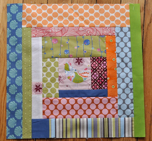 Scraptastic block for Jenna