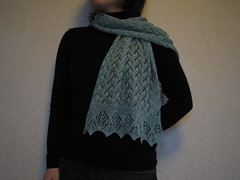 Madli's Shawl for my mom