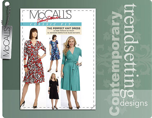 McCalls 5974 Perfect Knit Dress