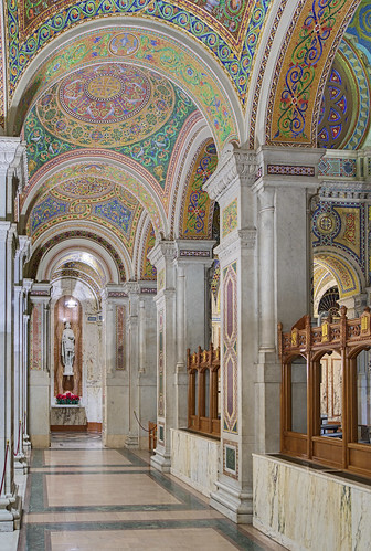 Cathedral Basilica of Saint Louis, in Saint Louis, Missouri, USA - ambulatory