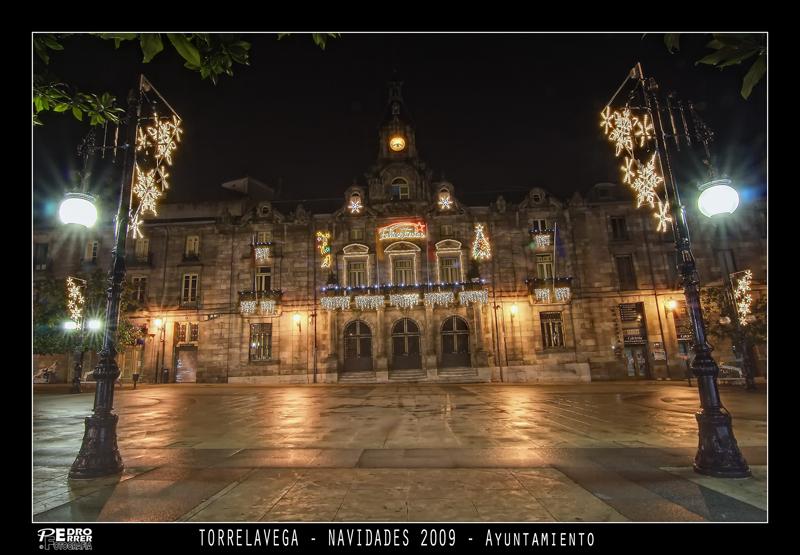 Torrelavega - Ayuntamiento - Navidades 2009