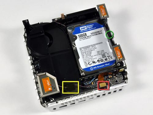 SATA жесткий диск Mac mini