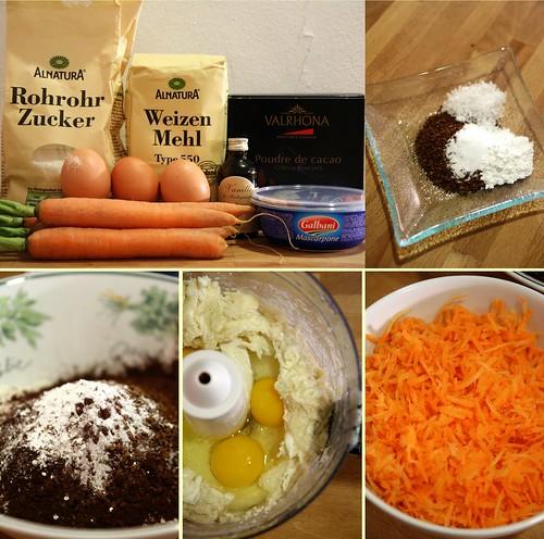 Cacao, carottes & mascarpone