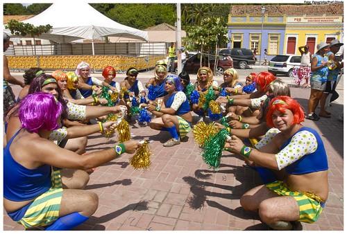 Virgens de Verdade no Carnaval 2010. Foto: Passarinho/Pref.Olinda