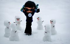 Attack of the Snowmen - 212/365 ADAD
